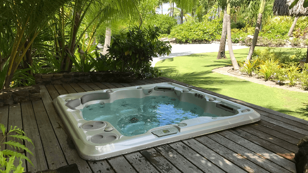 Installation - Hydropool Dorset hot tub and swim spa installation