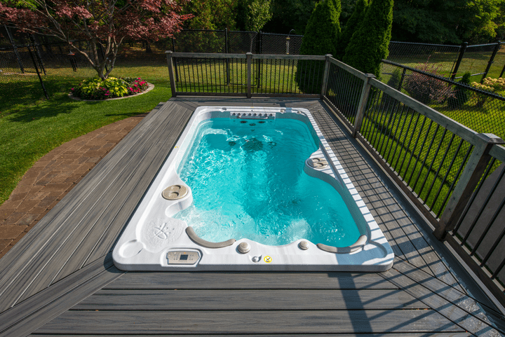 Why Buy A Swim Spa Over A Swimming Pool Hydropool Dorset