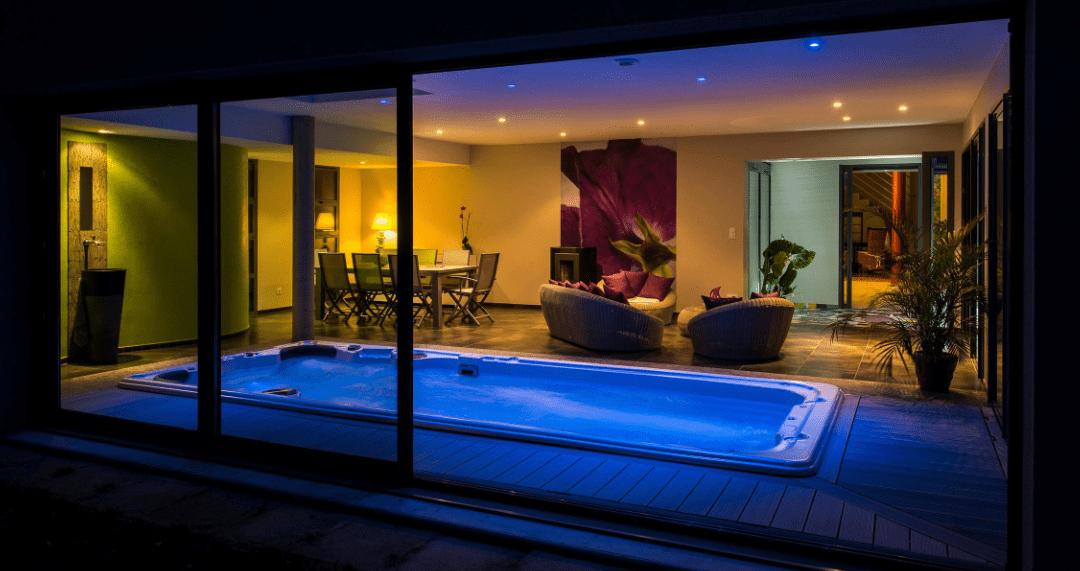 Can I put a Swim Spa indoors?