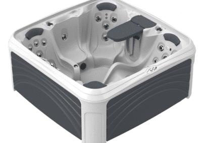 White Diamond Spa with Grey Panels